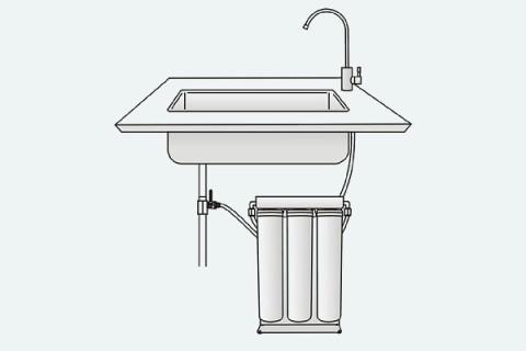 Purepro S300 háztartási víztisztító