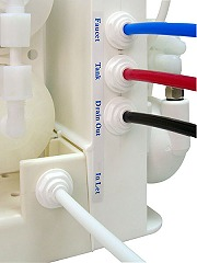 PurePro M500P RO víztisztító beszerelése gyorscsatlakozókkal