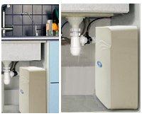 PurePro M800DF RO víztisztító beszerelve