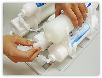 PurePro M800DF RO víztisztító kompakt szűrőegységei